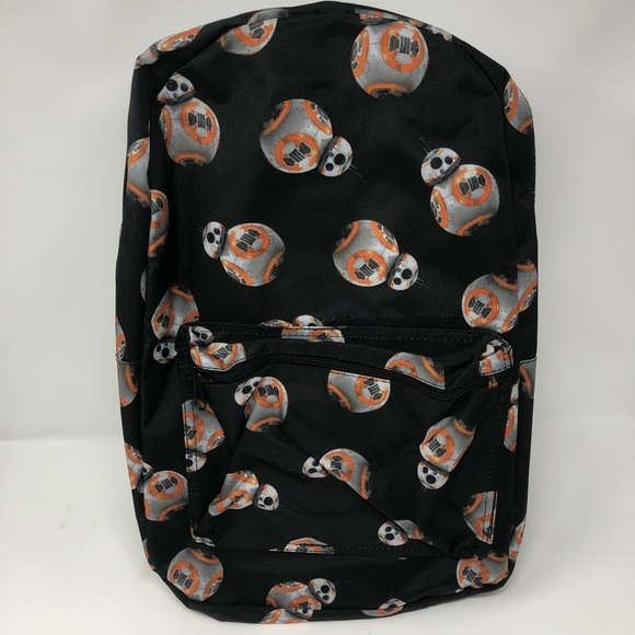 Disney Accessories   Star Wars Bb8 Backpack All Over Print   Poshmark 9955e6f1ef